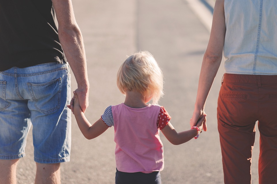 forældre med barn