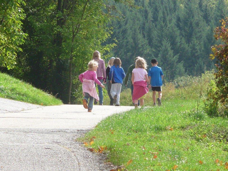 Børn på udflugt