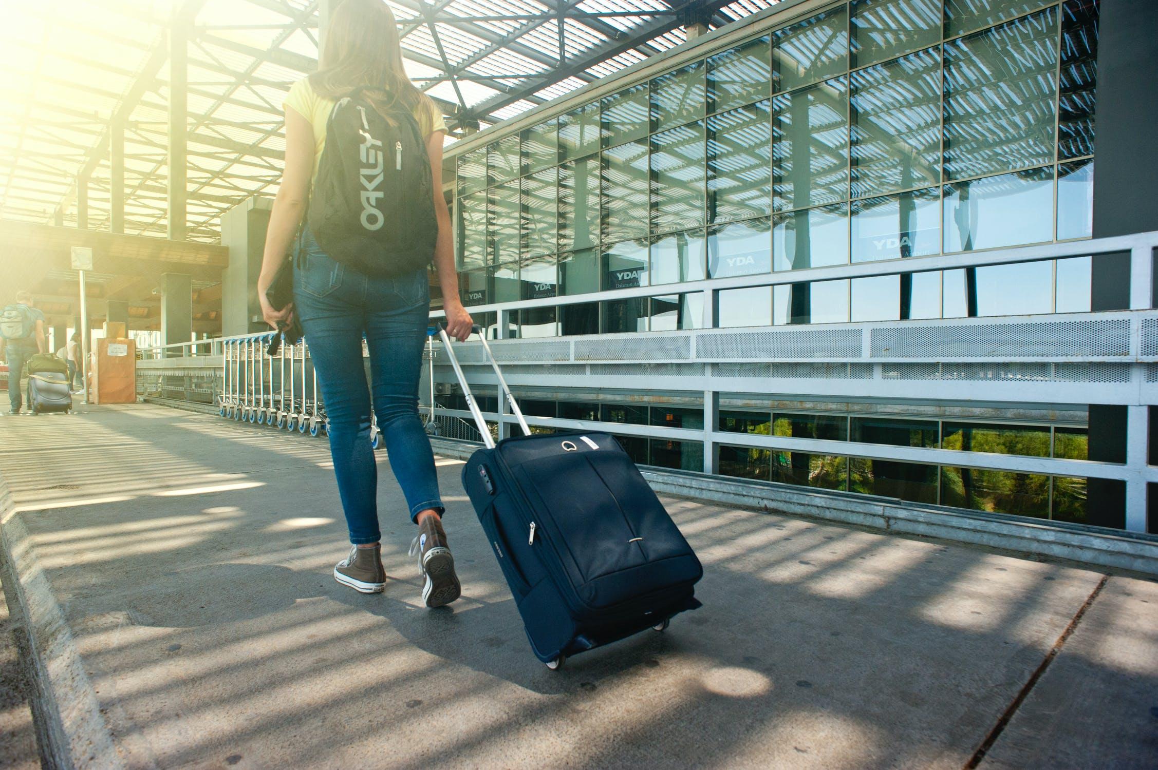 Afgang fra lufthavn
