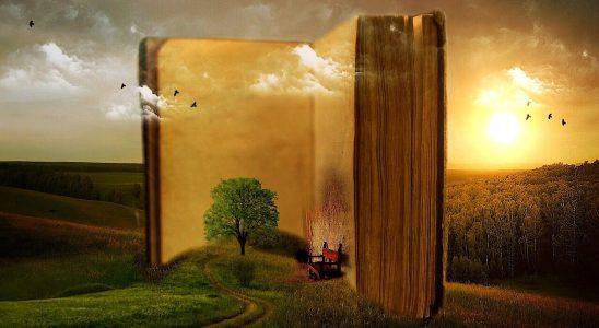 Bog med levende fortælling