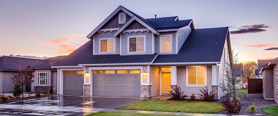 hjem, bolig, garage, arkitektur