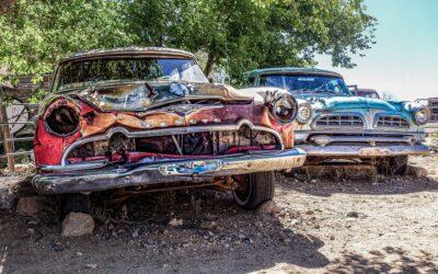 Værdi for det gamle køretøj